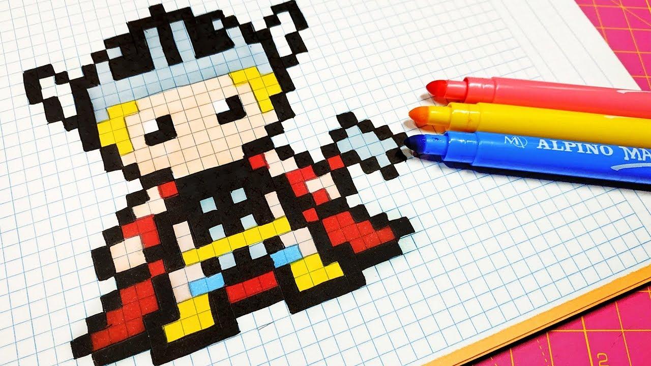 Handmade Pixel Art How To Draw Thor Pixelart
