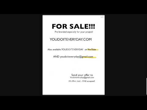 domain for sale youdoiteveryday.com