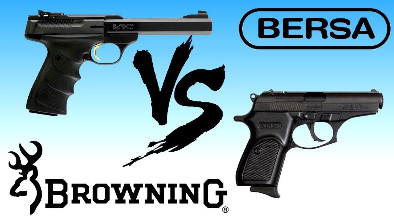 Thunder VS Buckmark ( 22 Handguns)