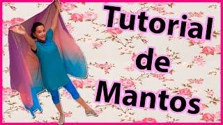 Tutorial de Mantos (Pasos) Danza Cristiana | Sarah Yuritza