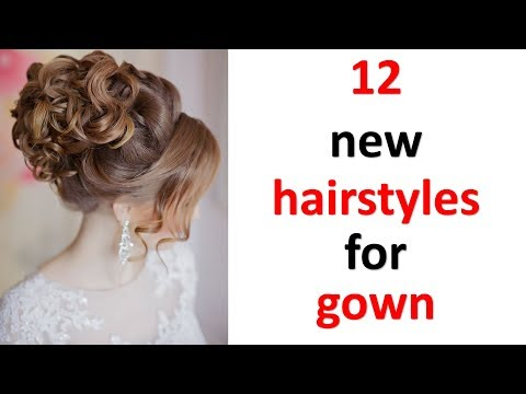 12-gorgeous-hairstyles-with-gown-||-new-hairstyle-||-updo-hairstyles-||-easy-hairstyles-||-hairstyle