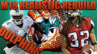 Realistic Rebuild of the Miami Dolphins! | Madden 18 Franchise! The Hardest Team to Rebuild! 2017 Video
