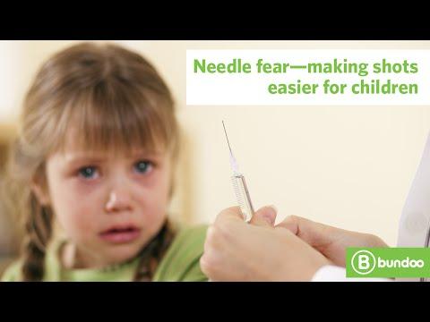 Needle fear—making shots easier for children