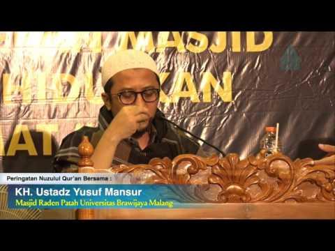 Yusuf Mansur 2017 Peringatan Nuzulul Qur'an @Masjid Raden Patah UB - Bag 2