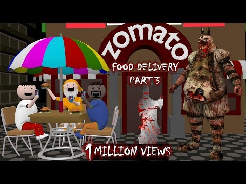 Zomato Food Delivery | Horror Stories Part 3 (ANIMATED IN HINDI) Make Joke Horror