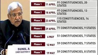 National Election In 7 Rounds From April 11; Results on May 23