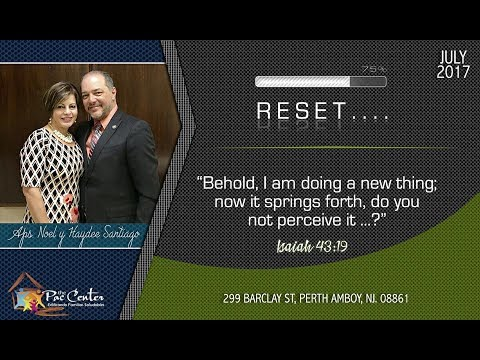 Time to Reset Your Acting | Pastor Alvin Santiago