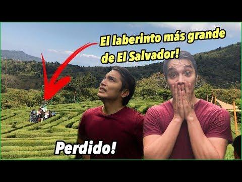 Perdido en el laberinto más grande de El Salvador | Tío Frank