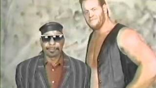 Mean Marc ( The Undertaker ) in WCW with Theodore Long