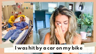 FINALLY OPENING UP | I was hit by a car while riding my bike | how I am healing from trauma