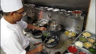 Wok Stir Fried Veg Hakka Noodles Recipe: Indo-Chinese Street Food at Hakkaland Restaurant, London...