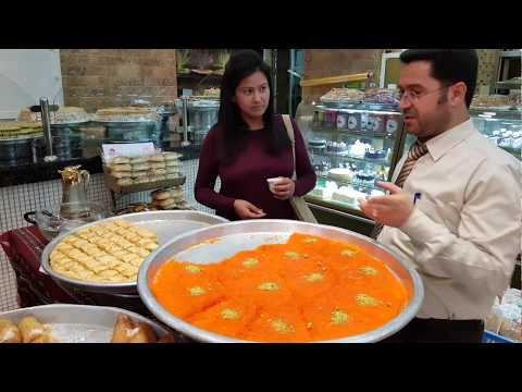 Tasting Arabic Sweets from UAE,Morocco,Egypt,Syria by Mamta Sachdeva