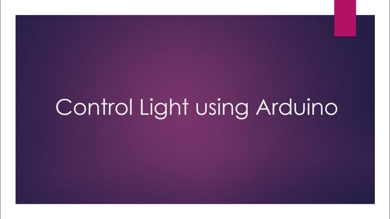 Arduino Bluetooth Room Lights