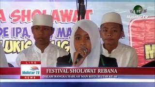 MAN Kota Blitar Festival Sholawat 2016