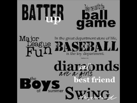 Terms of Baseball