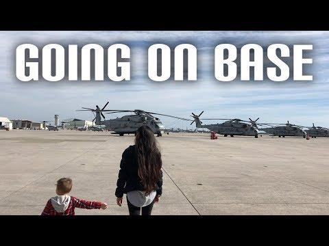 Visiting My Sisters Work | US Marine Corps - Jacksonville North Carolina