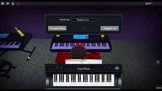 Guren no Yumiya - Shingeki no Kyojin by: Linked Horizon on a ROBLOX piano. [Animenz Arr.]