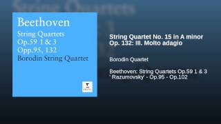String Quartet No. 15 in A minor Op. 132: III. Molto adagio