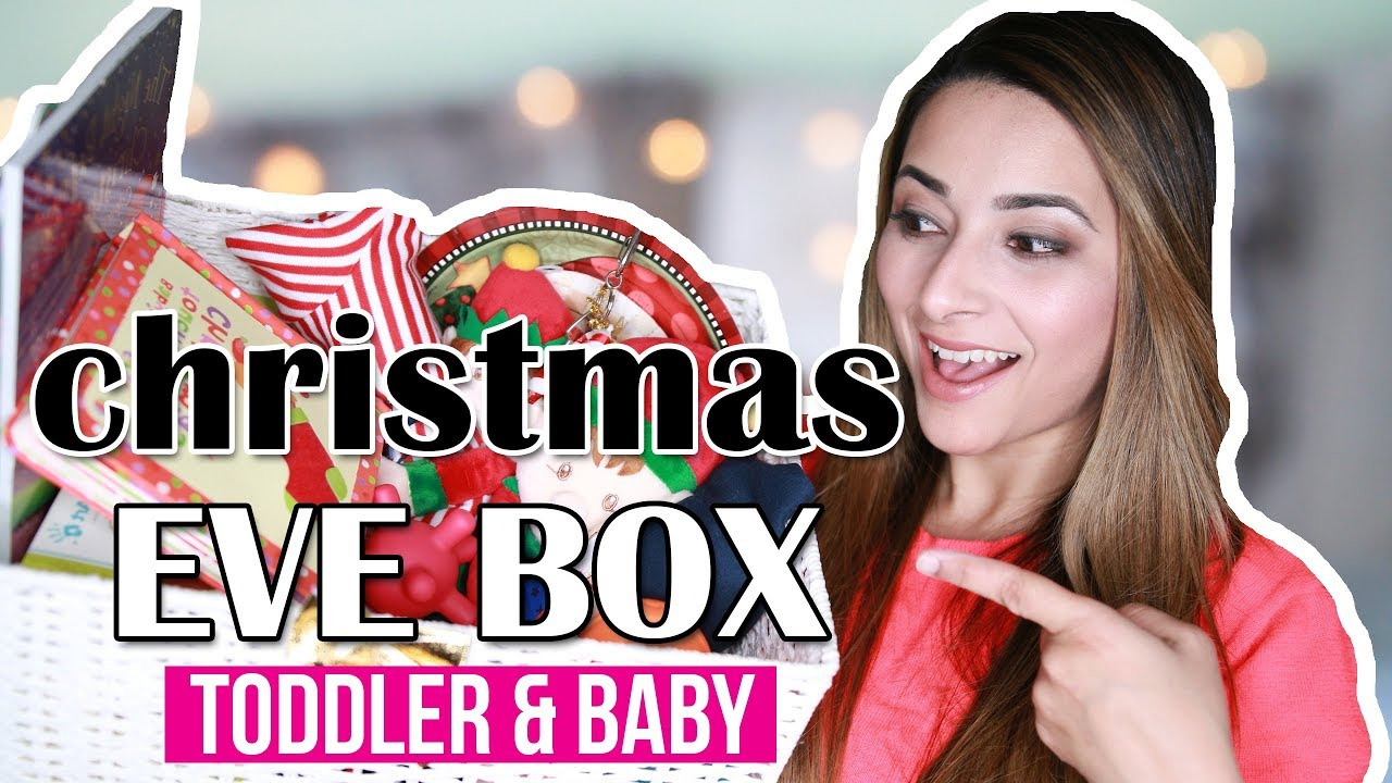 Christmas Eve Box Ideas 2017 Baby Toddler What S In My Kids Christmas Eve Box Ysis Lorenna Youtube