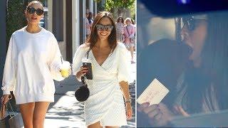 Cara Santana Finds Love Note Following Shopping Spree With Olivia Culpo