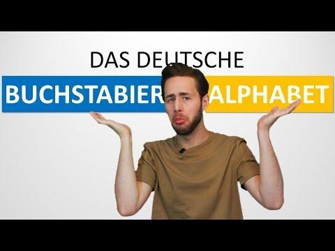 Das Deutsche Buchstabieralphabet |Schrecklich Deutsch