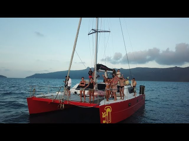 En catamarán por las Islas Whitsunday