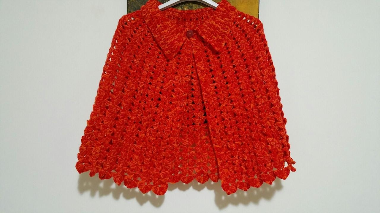 Mantellina Assunta Uncinettocape Crochetcabo Del Tejido Youtube