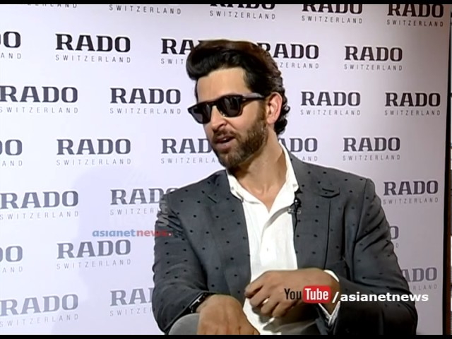 Hrithik Roshan Exclusive interview on Asianet news