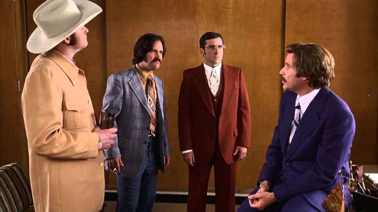 Legendary Ron Burgundy and the Channel 4 News team - Afternoon Delight  cutscene