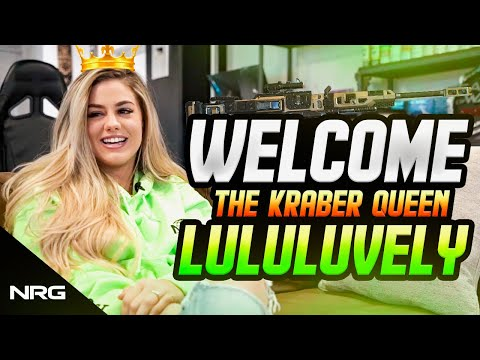 Introducing NRG LuluLuvely | The APEX Kraber Queen | Announcement And Interview