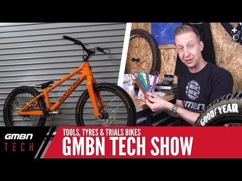 Tools, Tyres & Trials Bikes | GMBN Tech Show Ep. 14