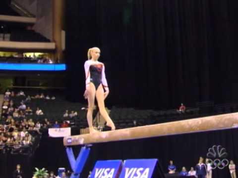 nastia liukin balance beam visa day 2 usa gymnastics