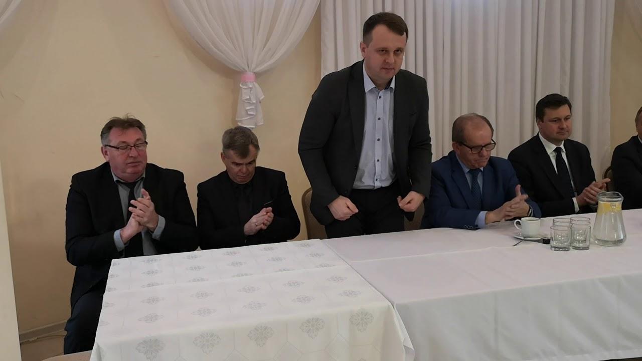 Minister Rolnictwa  Jan Krzysztof Ardanowski w Lubieniu Kujawskim