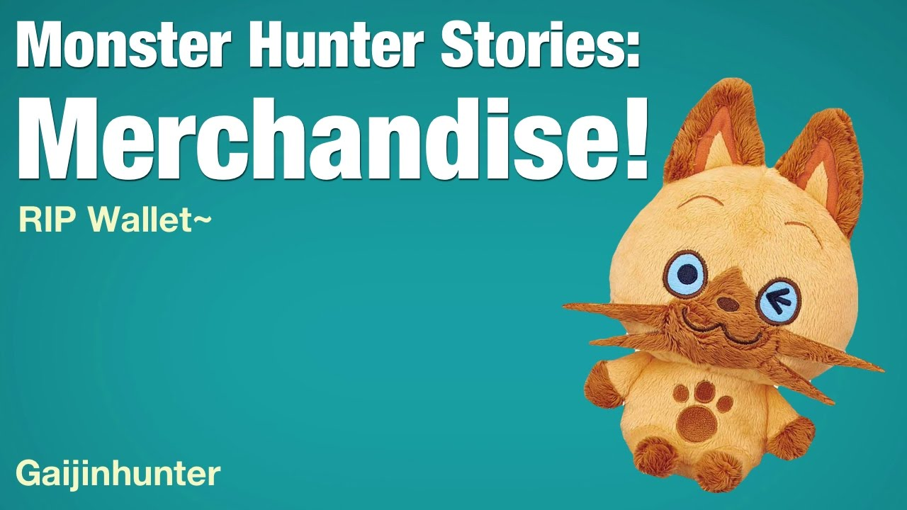 Monster Hunter Stories: Merchandise - YouTube