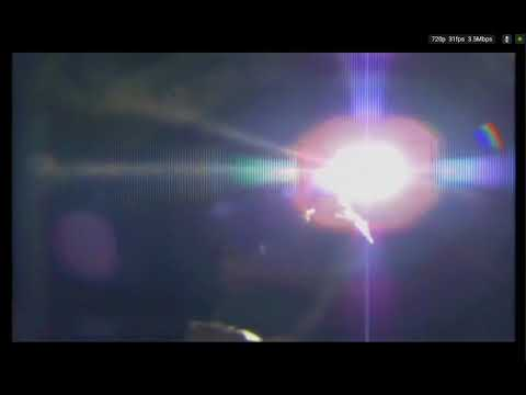 NASA's SUN SIMULATOR (OR SOMETHING LIKE THAT) on the I.S.S. over Kazakhstan on 3-01-18 at 4:15p.m.!!