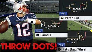 HOW TO RUN GUN Y OFF TRIPS PATS! DOT UP ANY DEFENSE IN MADDEN 20! Video