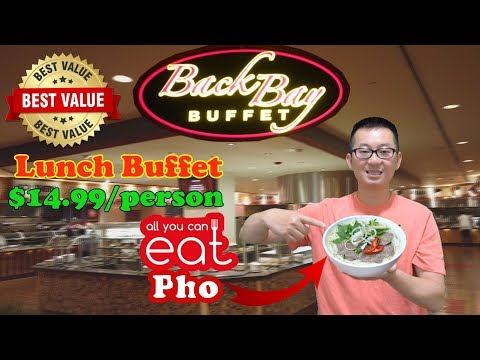 The Best Value Lunch Buffet In Biloxi  @ Back Bay Buffet | Mississippi | IP Casino Resort Spa