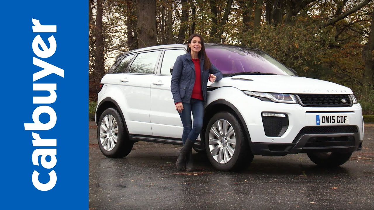 range rover evoque 2016 review carbuyer youtube. Black Bedroom Furniture Sets. Home Design Ideas