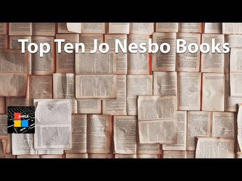 Top Ten Jo Nesbo Books