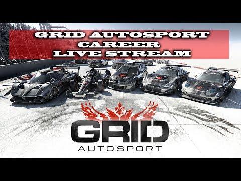 Gaming : Grid Autosport / Career Mode  (Live Stream)