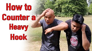 How to defend and counter the Hook - Self defence Street fight