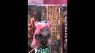 Мои куклы монстер хай из коллекции Бу Йорк!