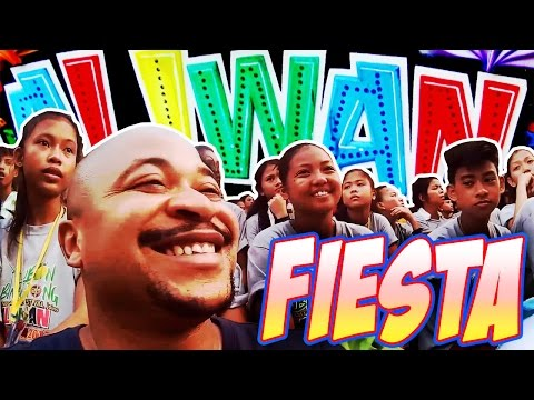 BEAUTY CONTEST, STREET DANCE COMPETITION - ALIWAN FIESTA 2017 - PHILIPPINES - 동영상
