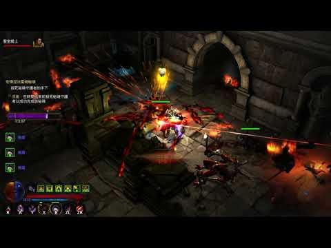 NS-Diablo 3 狩魔獵人 船長火多重100 迴盪狂怒
