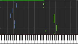 Whitney Houston - I Wanna Dance With Somebody Piano Tutorial (100% Speed)