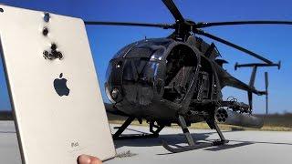 iPad vs Attack Helicopter Minigun