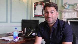 EDDIE HEARN RAW! ON SECURITY MEASURES, JOSHUA-KLITSCHKO REMATCH, BROOK-SPENCE, FURY, TAYLOR-DAVIES