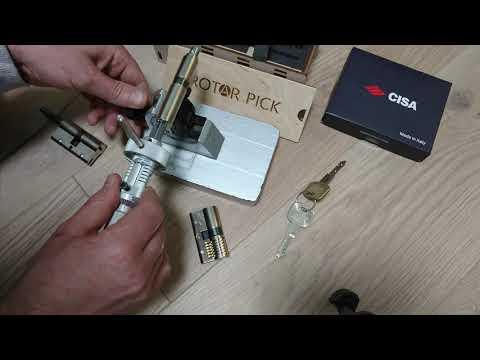 Взлом отмычками CISA   Locksmith tools Kit for Cisa 5in1 1)Cisa Astral 2)Cisa Asix 3)Cisa Tekno 4)Cisa AP3 5)Cisa AP4 (Locksmith tools Kit for Cisa 5in11)Cisa Astr