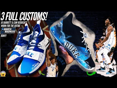 Making 3 FULL DUKE CUSTOMS worn by RJ and Cam during march madness!  | by Sierato