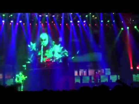 KISS Live In Birmingham 5/5/2010 Sonic Boom Over Europe Tour